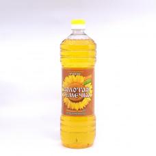 Масло подсолнечное Золотая семечка  нераф. 1,0л