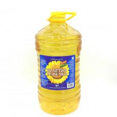Масло Золотая Семечка подсолнечное рафинированное, 5л