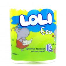 Полотенца Loli Eco бумажные, 2-х сл. 2шт.