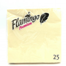 Бумажные салфетки Flamingo Premium брызги шампанского, 25шт.