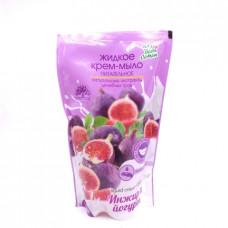 Крем-мыло Для всей семьи Инжир и Йогурт жидкое 500мл дой-пак