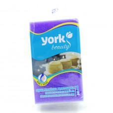 Губка для ванны и массажа York, 1шт.