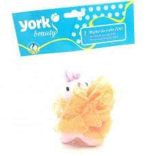 Мочалка банная York  №1509, 1шт.