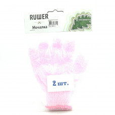Мочалка Rusher массажная перчатка, 1шт.