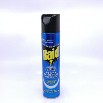 Аэрозоль Raid макси против мух и комаров 300ml