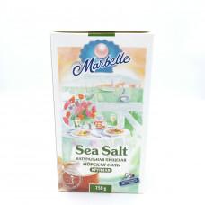 Соль Marbelle морская крупная 750гр
