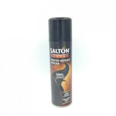 Краска для обуви Salton Expert черная для замши, 250мл