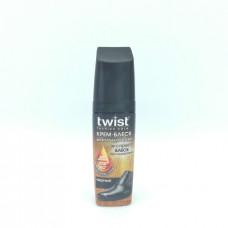 Крем-блеск  для обуви Twist черный 75 мл