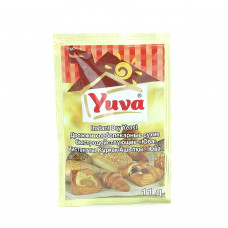 Дрожжи Yuva хлебопекарные быстродействующие сухие, 11 гр
