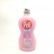 Жидкость для мытья посуды Pril Power Кальций 500мл