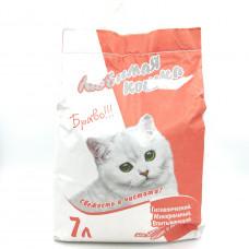 Наполнитель Любимая Кошка для длинношерстных кошек, 7л