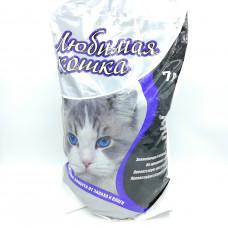 Наполнитель Любимая Кошка для котят и кошек комкующийся, 7 л
