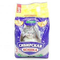 Наполнитель Сибирская кошка Супер для кошек, 3л
