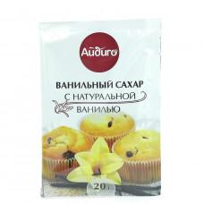 Сахар Айдиго ванильный с натуральной ванилью, 20г
