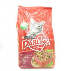 Корм для кошек Darling мясо овощи, 2кг