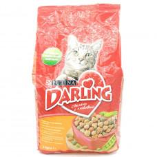 Корм для кошек Darling Птица и овощи,  2кг