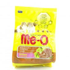 Корм для кошек Me — O с говядиной и овощами для взрослых кошек, 450г