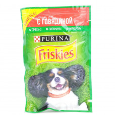 Корм для собак Friskies говядина, 85г