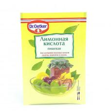 Лимонная кислота Dr.Oetker, 8 гр