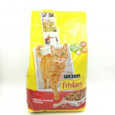 Корм Friskies для кошек курица, 2кг