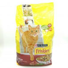 Корм Friskies для кошек с мясом, 2кг.