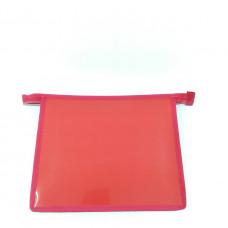 Папка Красная А5 на молнии