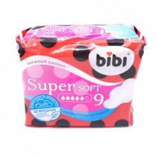 Прокладки Bibi Супер супер ультра софт 9 шт