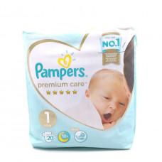 Подгузники Pampers Premium Care, 2-5кг, 20шт