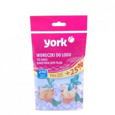 Пакетики для льда York 240 шт 90030