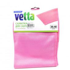 Салфетка Vetta из микрофибры для сантехники, 1шт.