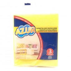 Салфетка Azur для уборки дома, 3шт.