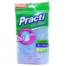 Салфетка Paclan Practi из микрофибры универсальная хозяйственная, 1шт.