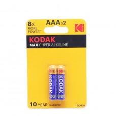 Батарейки Kodak Alkaline Max LR03 1.5 V