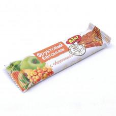 Батончик фруктовый облепиха 30 гр