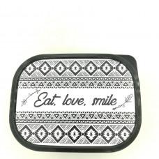 Ланч-бокс Eat. love. smile!, 0.5л