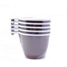 Чашка кофейная одноразовая, 5шт.