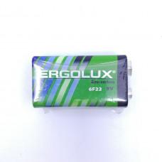 Батарейка Ergolux арт 6F22SR1 9V