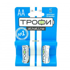 Батарейка Трофи AA 1.5V LR6-2BL, 2шт.