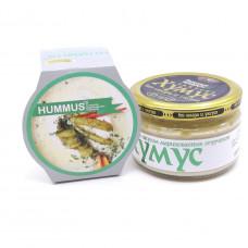 Закуска Тайны Востока Хумус со вкусом маринованных огурчиков, 200г