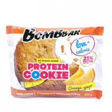 Печенье Bomb bar на фруктозе Апельсин-имбирь, 40г