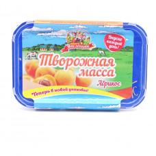 Масса творожная Продукт Масленково Абрикос 20%, 450 гр