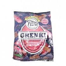 Сухарики Flint Grenki ржаные телятина с аджикой 110гр