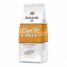 Кофе в зернах Ambassador Gold Label, 200 гр м/у
