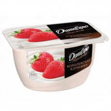 Творожный продукт Danone Даниссимо Королевская клубника 5,6%,,130 гр