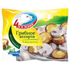 Ассорти грибное 4 Сезона, 400 гр
