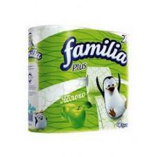 Бумага туалетная Familia Plus Яблоко 2-х сл. 4 шт