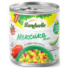 Бондюэль Овощная Смесь Мексика Микс 425мл