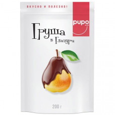 Груша Pupo в шоколадной глазури 200 гр