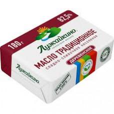 Масло Лужайкино сладко-сливочное, 82,5%, 180 гр