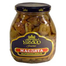 Маслята маринованные Mikado 314 мл ст/б